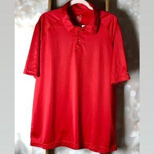 Nike Dri Fit Red Men's Polo